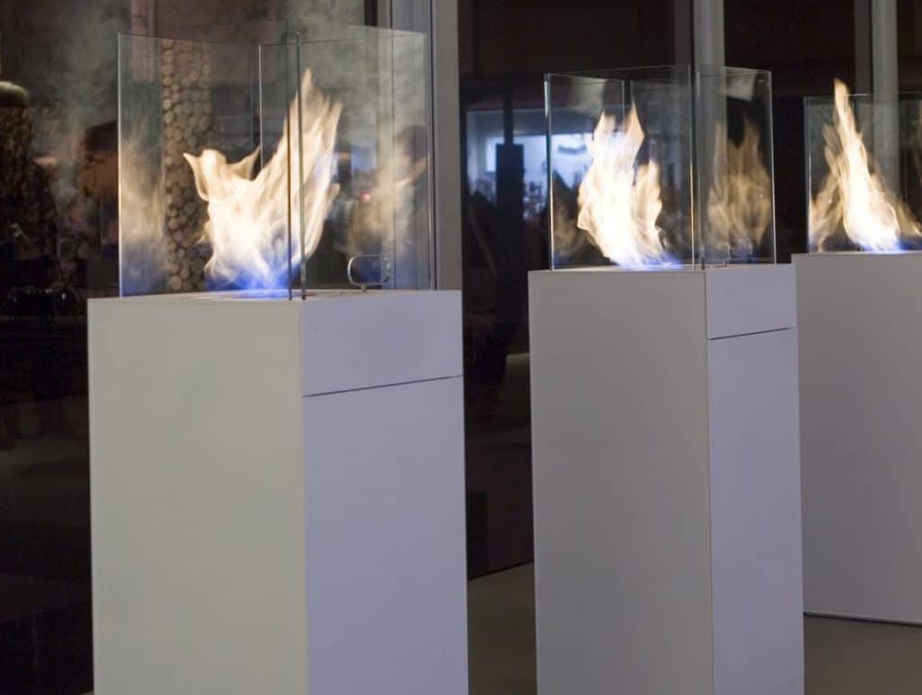 Antonio Lupi Kamine und Feuerstellen Babele