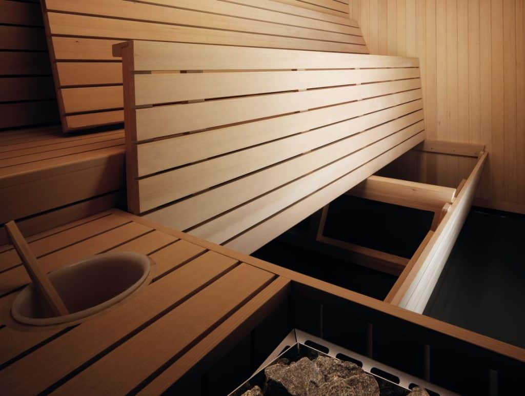Effegibi finishe Sauna Gym