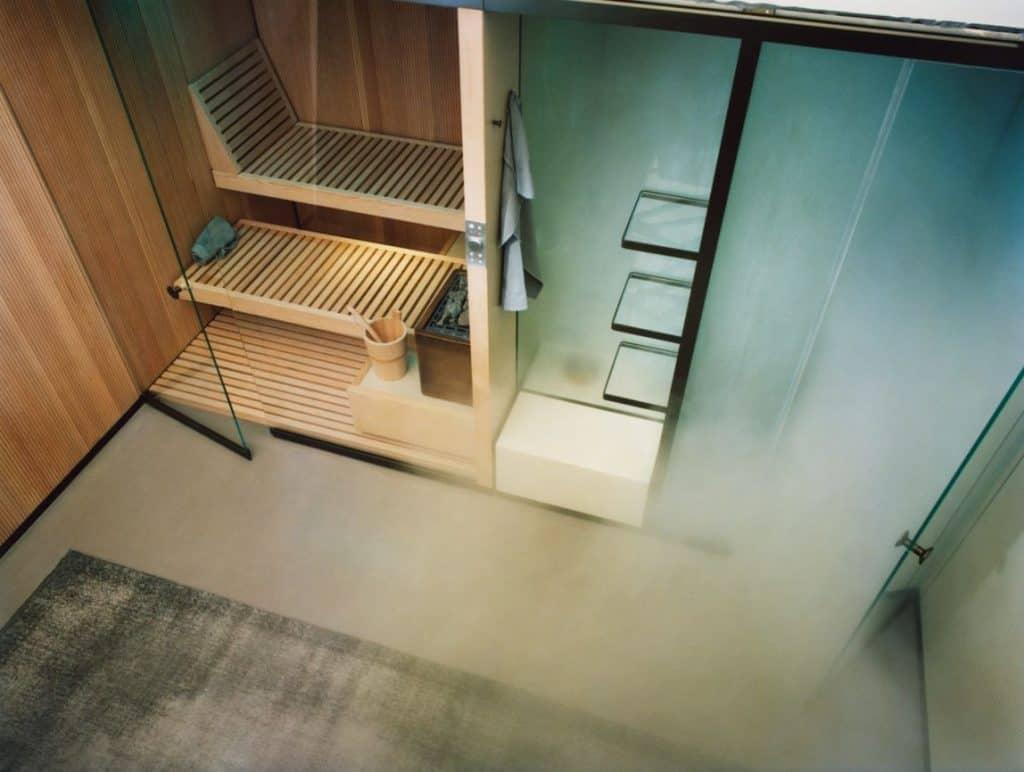 Effegibi Sauna und Hammams Bodylove, türkisches Bad mit finishe Sauna Kombination