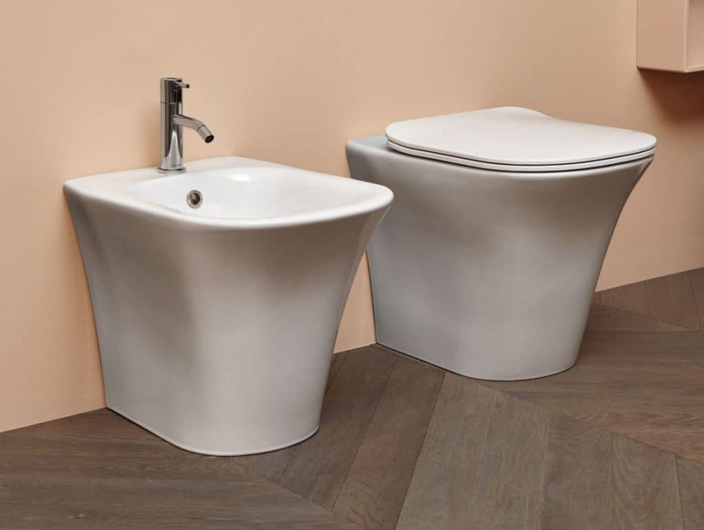 WC plus Bidet Cabo von Antonio Lupi