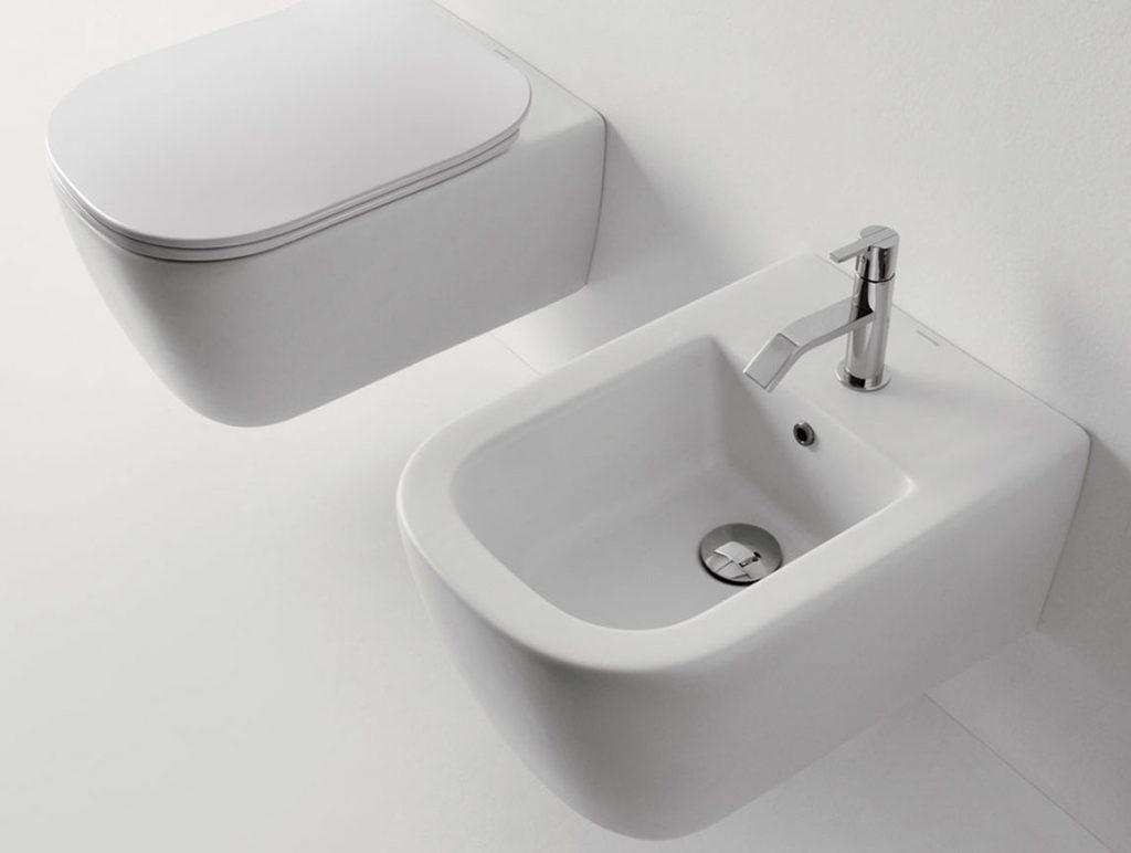 WC plus Bidet Komodo von Antonio Lupi