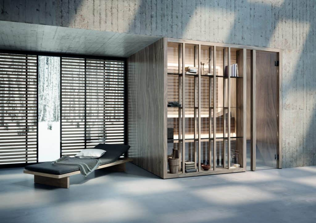 Effegibi Yoku eine finnische Sauna mit japanische Inspiration