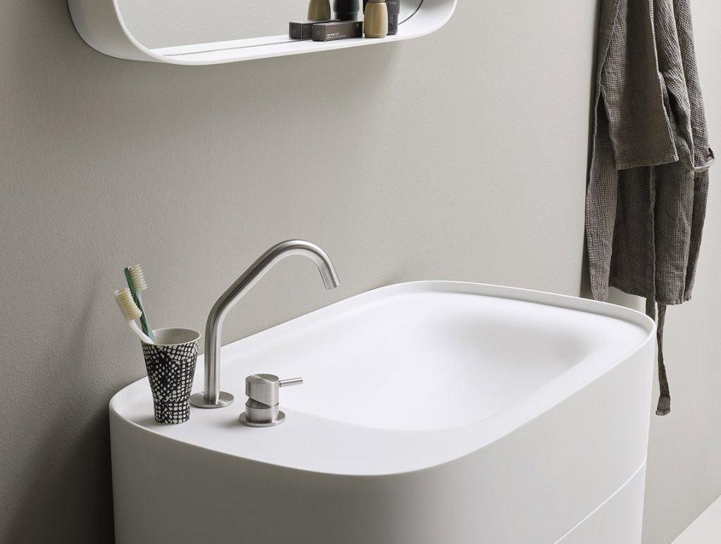 Rexa Design Waschbecken Fonte mit Schubladen