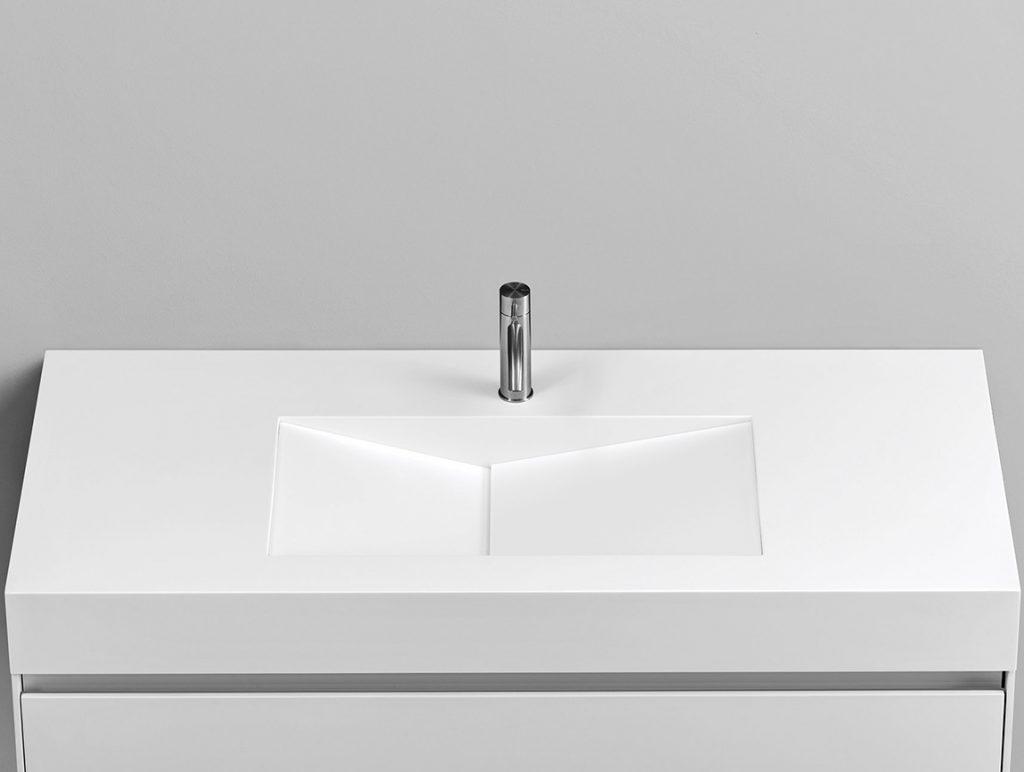 Rexa Design Waschtisch Serien Corian® Di Taglio