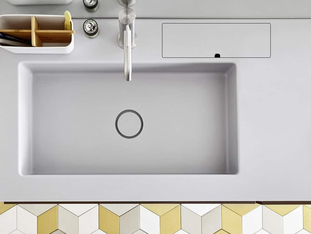 Rexa Design Waschtisch Serien aus Corian®