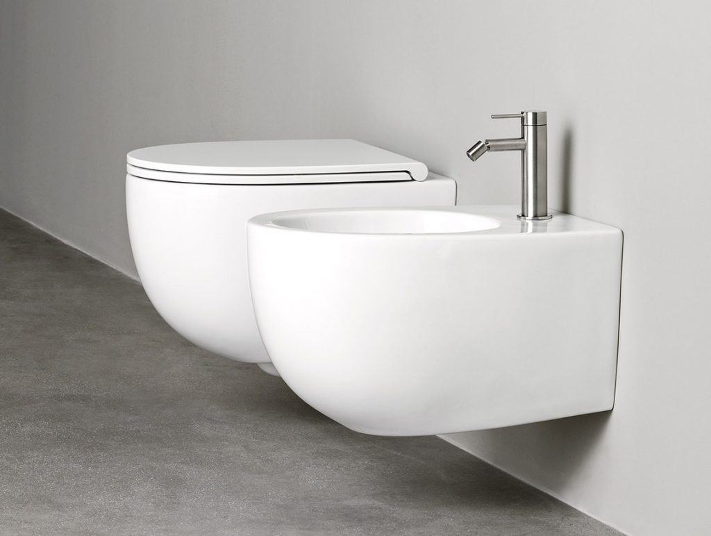 Rexa Design WC + Bidet Kombination About.2