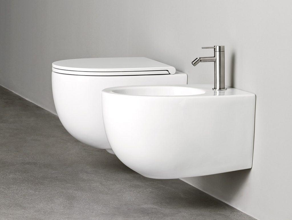 Rexa Design WC + Bidet Kombination About.2