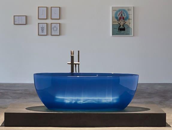 antonio lupi badewanne reflex blau