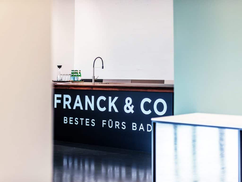 FRANCK & CO Bestes fuers Bad Showroom Luebeck